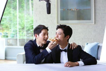 Park Bo Gum: Song Joong Ki giong nhu anh trai toi - Anh 1