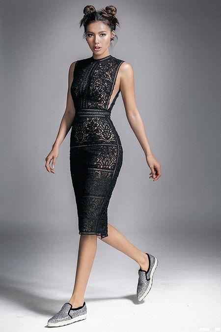Kha nang catwalk cua dai dien Viet Nam tai Asia's Next Top Model - Anh 1