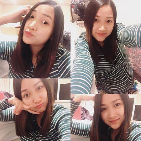"Vo 9x cua Lam Truong khoe bung bau gan den ngay sinh van dep ""me hon"" - Anh 3"