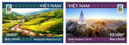 Phat hanh dac biet bo tem buu chinh ve Lao Cai – Tay Bac - Anh 1
