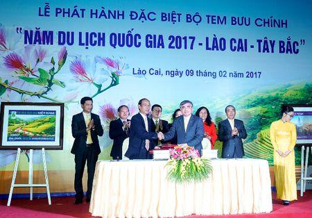 Phat hanh dac biet bo tem buu chinh ve Lao Cai – Tay Bac - Anh 2