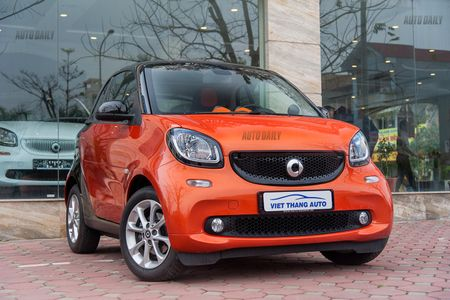Can canh Smart Fortwo 2016 – Citycar 2 cho gia hon 1 ty tai Ha Noi - Anh 1