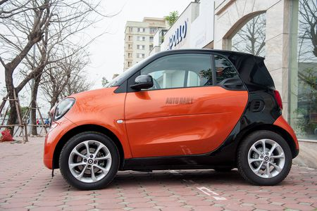 Can canh Smart Fortwo 2016 – Citycar 2 cho gia hon 1 ty tai Ha Noi - Anh 5