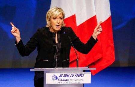 Lan song ung ho ba Marine Le Pen - Anh 1