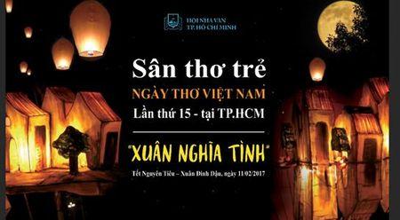 Tho tre se la diem nhan cho 'Ngay tho Viet Nam' tai TP.HCM - Anh 1