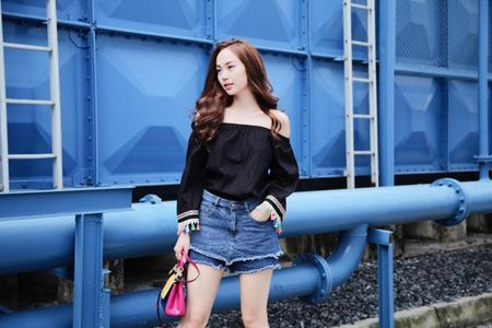 Street style dep - xau that thuong cua Minh Hang - Anh 1