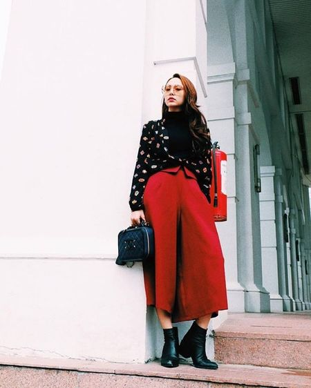 Street style dep - xau that thuong cua Minh Hang - Anh 4