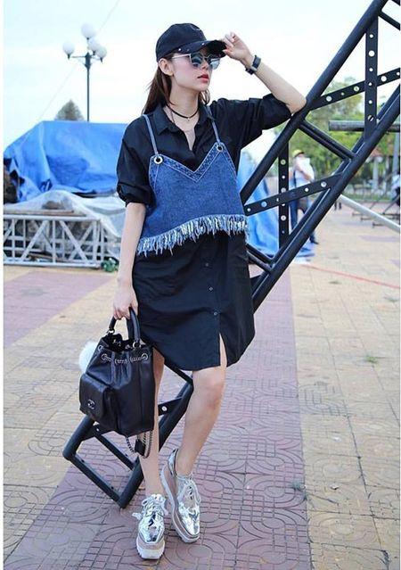 Street style dep - xau that thuong cua Minh Hang - Anh 5