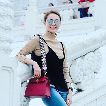 Street style dep - xau that thuong cua Minh Hang - Anh 7