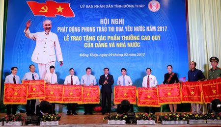 Dong Thap: Phat dong phong trao thi dua nam 2017 - Anh 1