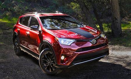 RAV4 Advanture 2018 - xe off-road moi cua Toyota - Anh 1