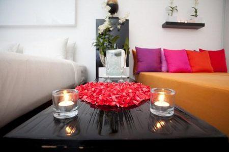Trang tri phong Valentine lang man day y nghia - Anh 1