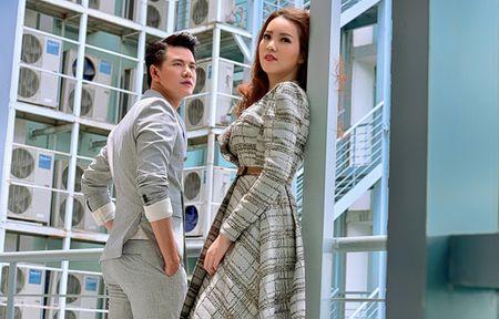 A hau Thuy Van khien Vu Manh Cuong chanh long mua Valentine - Anh 1