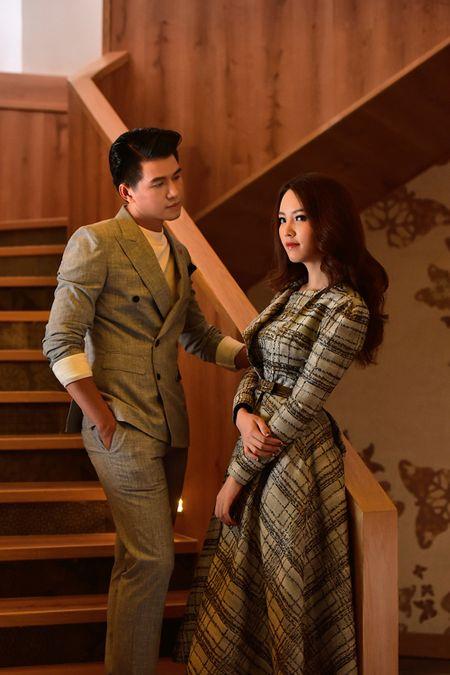 A hau Thuy Van khien Vu Manh Cuong chanh long mua Valentine - Anh 4