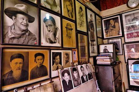 Nguyen Bao Nguyen: Tho ve pho co thoi hon vao tranh - Anh 2