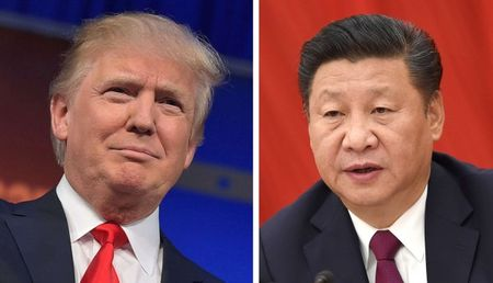 Ong Trump dien dam ong Tap, hua ton trong 'Mot Trung Quoc' - Anh 1