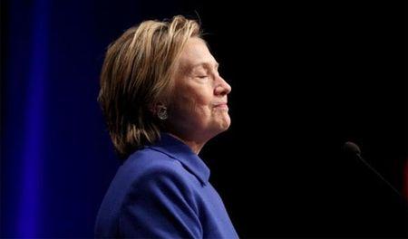 Hillary 'noi moc' Trump sau phan quyet moi - Anh 1