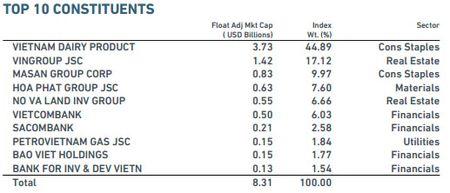 2 co phieu Viet Nam vao ro MSCI Frontier Markets Index - Anh 3