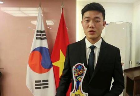 Xuan Truong quyet ghi diem, gianh suat da chinh tai Gangwon FC - Anh 1