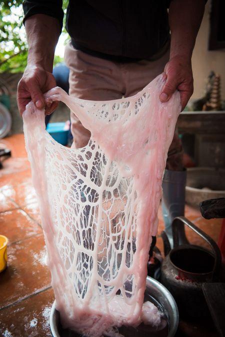 Nguoi dan La Phu tung bung ruoc 'Ong lon' 200kg trong dem - Anh 6