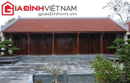 Choang ngop nhung ngoi biet thu go quy cua dai gia Viet - Anh 19