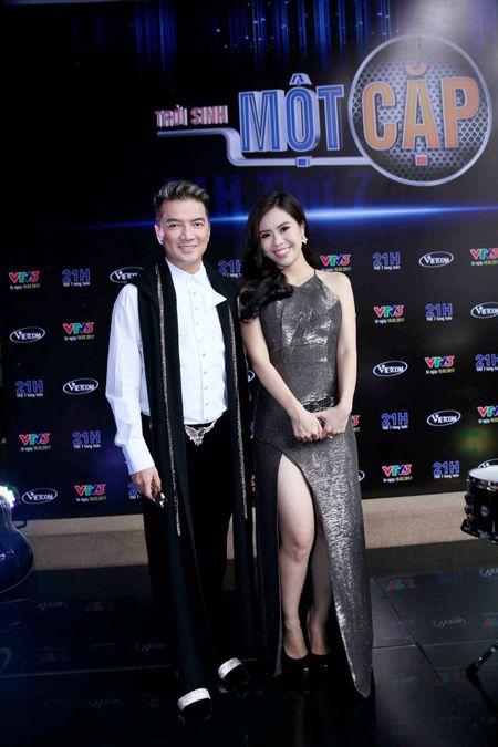 Giam khao Mr Dam lan dau lo dien cung Duong Trieu Vu sau on ao chuyen tinh cam - Anh 2