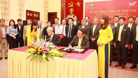 Buu dien tham gia thu thap du lieu thong ke - Anh 1