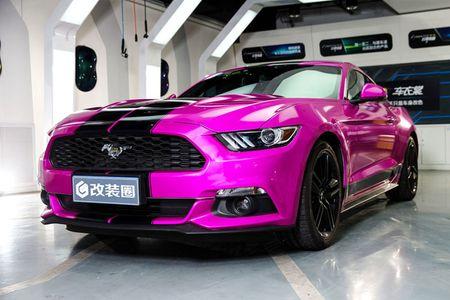 Ngop tho truoc man 'uon eo' cua my nhan ben Mustang - Anh 11