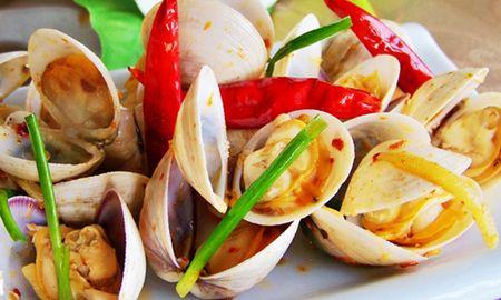 Bien tau cung mon ngao hap kieu Thai la mieng - Anh 7