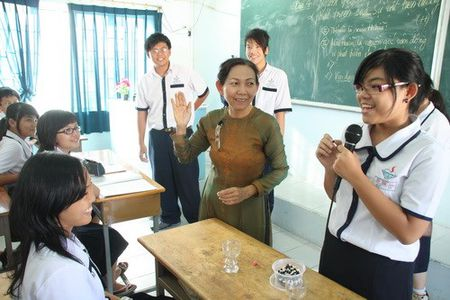 Phuong phap day hoc, on tap Dia l y, Giao duc cong dan thi THPT quoc gia - Anh 1