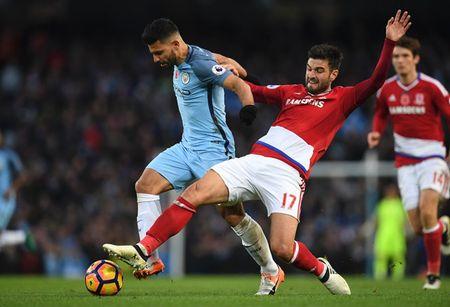 Cup FA - Vong tu ket: Middlesbrough - Man City: 'The Boro' kho voi toi 'Trang xanh' - Anh 1