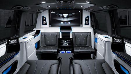 Mercedes V-Class bien thanh xe Business Lounge dep kho cuong - Anh 3