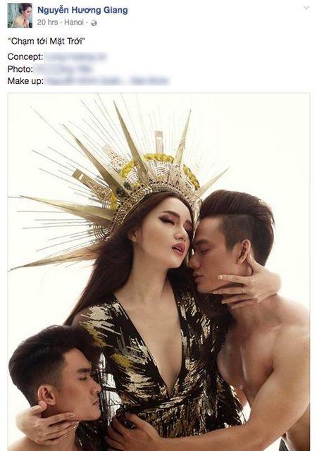 Huong Giang Idol 'dao' hinh tuong nu than cua Beyonce? - Anh 1