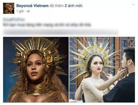 Huong Giang Idol 'dao' hinh tuong nu than cua Beyonce? - Anh 4