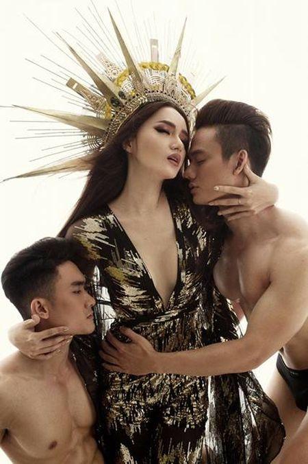 Huong Giang Idol 'dao' hinh tuong nu than cua Beyonce? - Anh 7