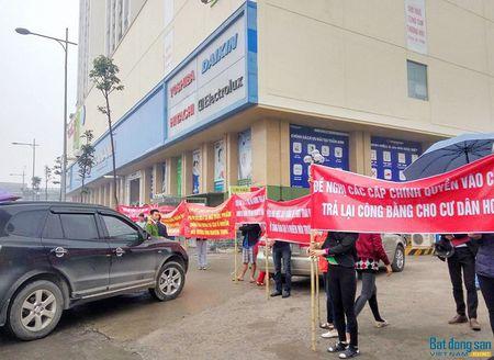 Cu dan chung cu Ho Guom Plaza doi mua bieu tinh phan doi chu dau tu - Anh 4
