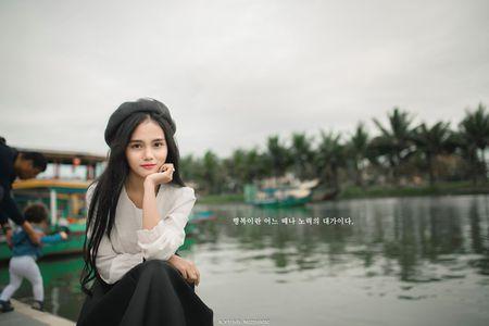Danh tinh co gai Viet xinh dep duoc dan mang Han Quoc kiem tim - Anh 1