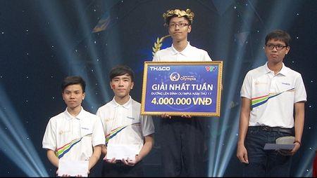 Thi sinh hut chien thang Olympia khong muon khieu nai BTC - Anh 2