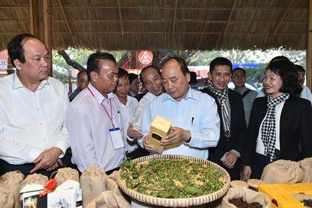 Thu tuong tham gian hang cua Trung Nguyen tai Le hoi Ca phe Buon Ma Thuot - Anh 1