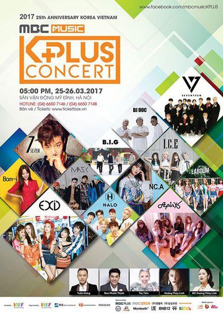 HOT: Gia ve MBC Music K-PLus Concert chi tu 400 ngan dong - Anh 1