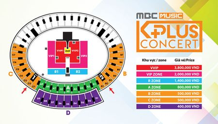 HOT: Gia ve MBC Music K-PLus Concert chi tu 400 ngan dong - Anh 2