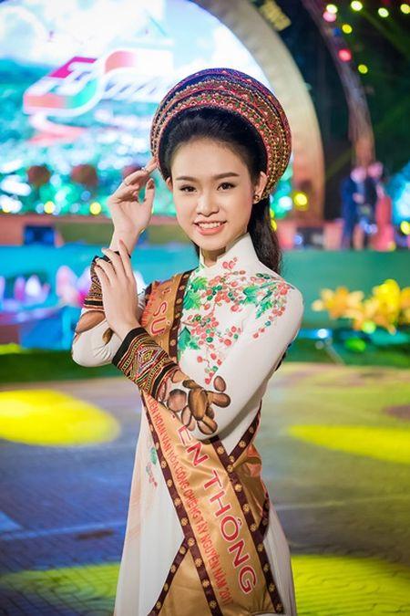 Can canh bo ao dai doc dao cua Dai su Le hoi Cafe Buon Ma Thuot 2017 - Anh 2