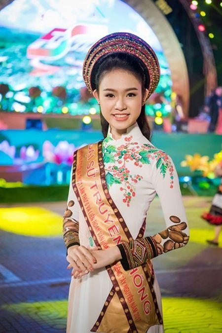 Can canh bo ao dai doc dao cua Dai su Le hoi Cafe Buon Ma Thuot 2017 - Anh 3