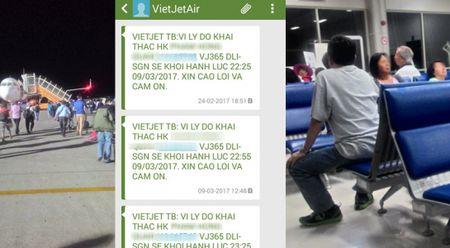 Bay chuyen Da Lat – TP.HCM bi hoan 4 lan, hanh khach tay chay VietJet - Anh 1