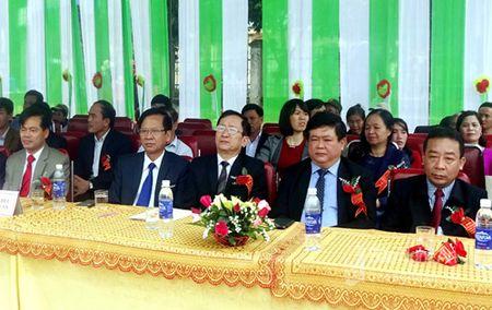 Xa Lien Thanh (Yen Thanh) don bang cong nhan dat chuan Nong thon moi - Anh 1
