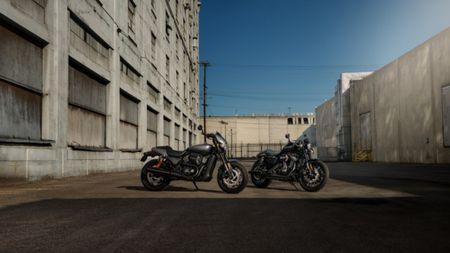 Harley-Davidson gioi thieu chiec Street Rod 750 tai Hoa Ky - Anh 2