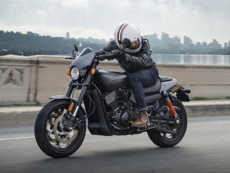 Harley-Davidson gioi thieu chiec Street Rod 750 tai Hoa Ky - Anh 6