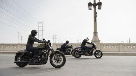 Harley-Davidson gioi thieu chiec Street Rod 750 tai Hoa Ky - Anh 7
