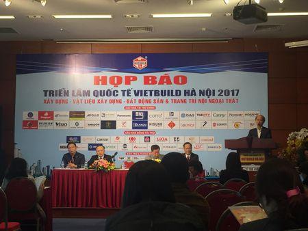 Hon 450 doanh nghiep tham gia Trien lam Quoc te Vietbuild Ha Noi 2017 - Anh 1