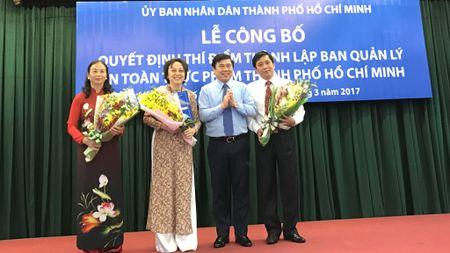 Ra mat Ban Quan ly an toan thuc pham TP.HCM - Anh 1